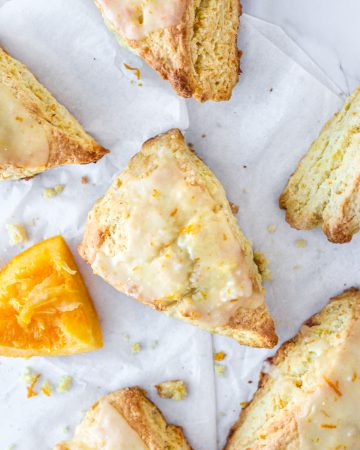copycat Panera orange scones