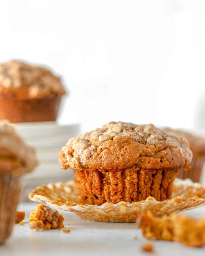 pumpkin molasses muffins